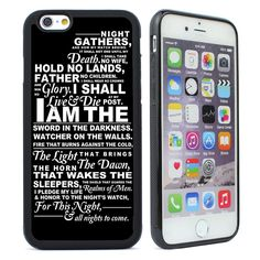 Game of Thrones Silicone Case for iPhone 4  5S SE 5C 6 6S Plus Cell Phone Cover #UnbrandedGeneric