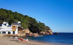 Tamariu Beach near Barcelona, Spain