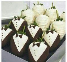 Wedding deserts! How cute & creative!