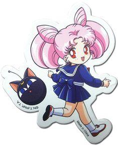 Sailor Moon Sticker - Chibi Moon @Archonia_US