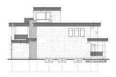 Modern House Plan with Roof Top Deck - thumb - 32 Deck Building Plans, Deck Plans, Cool Deck, Diy Deck, Deck Design, House Design, Flex Room, House Deck, Architectural Design House Plans