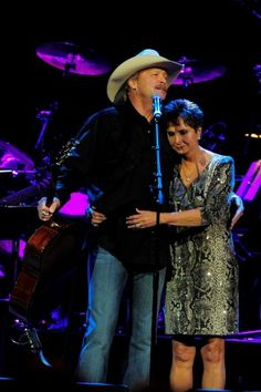 CLICK FOR PHOTO GALLERY: Alan Jackson and Nancy Jones at 'Playin' Possum: The Final No Show' at Bridgestone Arena in Nashville, Tenn., Novem...