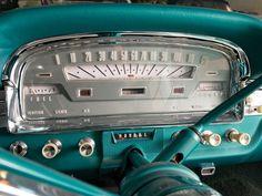 1959 Ford Fairlane 500 Skyliner Retractable Hardtop retro interior ...