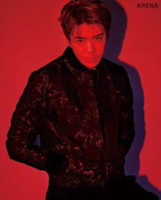 EXO's Sehun on the Cover of Arena Homme Plus Korea October 2018 Chanyeol, Kai, Kris Wu, Exo Members, Handsome Boys, Wattpad, Photoshoot, Actors, October