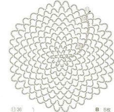 Breathtaking Crochet So You Can Comprehend Patterns Ideas. Stupefying Crochet So You Can Comprehend Patterns Ideas. Crochet Doily Diagram, Crochet Mandala Pattern, Crochet Circles, Crochet Doilies, Crochet Flowers, Crochet Lace, Crochet Snood, Thread Crochet, Crochet Mandela