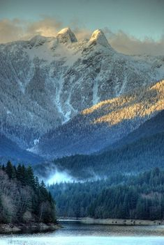 The Lions Vancouver's landmark mountain