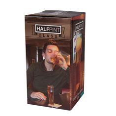 Glass Half Pint halvliter med vri