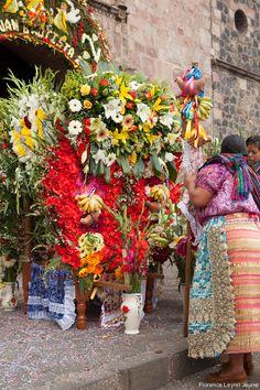 All things Mexico. Regalos para la obra de Dios, Offerings for Saint John the Baptist, Michoacan, Mexico
