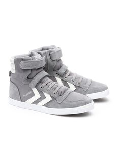 Boy's high tops. So soft so cool. by hummel