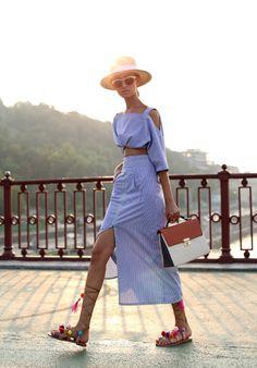 #summer #hat #look