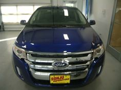 2013 Ford Edge SEL SEL 4dr SUV SUV 4 Doors Blue for sale in Two harbors, MN Source: http://www.usedcarsgroup.com/new-ford-edge-for-sale