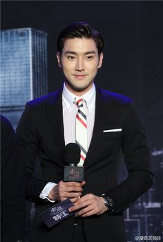 Siwon | 'Helios' Press Conference in Beijing (150309)
