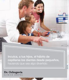 A los niños les encanta jugar, así que haz del aprendizaje algo divertido. Consejo de higiene dental ofrecido por la Clínica Dental Ochogavía, dirigida por el dentista Andrés Ochogavía.