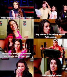I miss this Rachel!  ^ Me too! New York Rachel just annoys me for some reaosn.