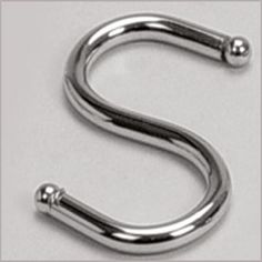 'S' HOOK  SKU: SH  Categories: Kitchen Organizers,   Products, RAILING SOLUTIONS  Tag: 'S' HOOK  Description  Reviews (0)