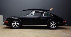 Porsche 911 & surfboard