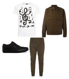 """""""band or fan"""" by geishauno on Polyvore featuring Dsquared2, PS Paul Smith, Vans, men's fashion and menswear"""
