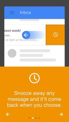 Inbox by Gmail app smartphone mail tutoriel