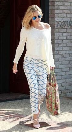 Love Kate Hudson's look! Simple, chick, and effortless!
