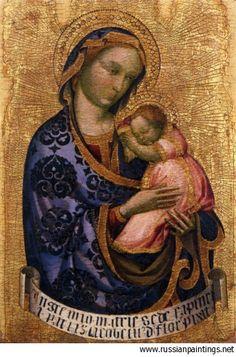 Fiore Jacobello del - 1410 'Virgin and Child'  JACOBELLO DEL FIORE (Venezia, ca. 1370 – 1439)      #TuscanyAgriturismoGiratola