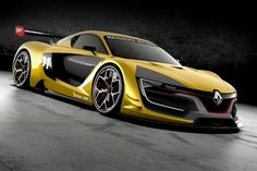 is restating its passion for motor sports with the Renault Sport a racing car of spectacular styling and exceptional performance. (c) Marketing Commerce - Droits réservés Renault Ferrari, Maserati, Supercars, Porsche, Audi, Renault Sport, Nissan Gt R, Henry Ford, Cheap Cars