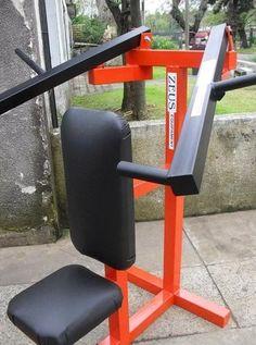 Home gym diy diet 28 super ideas diy speiseplan Homemade Gym Equipment, Diy Gym Equipment, No Equipment Workout, Gym Weight Machines, Workout Machines, Full Body Weight Workout, Weight Lifting, Home Made Gym, Home Gym Design