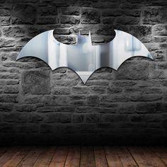 Batman Logo Mirror | GEEKYGET