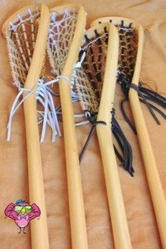 Native American Made Authentic Lacrosse by KwiioCouture on Etsy Official Lacrosse Sticks, traditionally made and crafted by hand in Akwesasne Mohawk Territory. Made with Hickory and leather.  Step your game up and play with Traditional lacrosse sticks, the way the game is meant to be played! Some features include faster shots at the net, and tougher checks on your opponent. Capture the true spirit of the game!