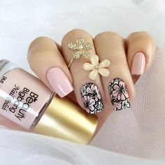 trending early spring nails art designs and colors 2019 page 19 120 trending early spring nails art designs and colors 2019 page 19 Spring Nail Art, Spring Nails, Diy Nails, Cute Nails, Pretty Nail Art, Nail Treatment, Fabulous Nails, Manicure And Pedicure, Nails Inspiration