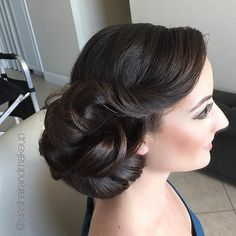 love this gorgeous soft wedding updo!  ~  we ❤ this! moncheribridals.com