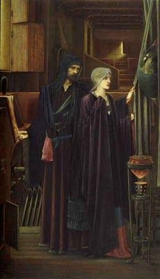 Edward Burne-Jones - The Wizard