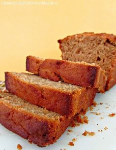 Peanut Butter Bread- I'm going to add chocolate chips to this!