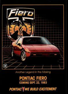 1984 Pontiac Fiero (USA) - wasn't in to it just yet...?!?