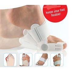 New White Footful Hallux Valgus Big Toe Bunion Straightener Splint Corrector Support Brace Pain Foot care Appliances