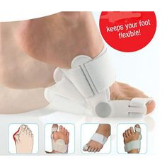 New White Footful Hallux Valgus Big Toe Bunion Straightener Splint Corrector Support Brace Pain Foot care Appliances