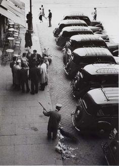 Taxi Driver Caucus, Rome by Mario DiGirolamo (1957)