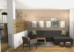 Vorschlag Wohnzimmer 3D-visualisiert Modern, Loft, 3d, Furniture, Home Decor, Environment, Oak Tree, Living Room, Homes