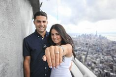 The proposal empire state building checked off my for 103rd floor empire state building
