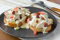 """Leftovers Recipe: Open-Faced Turkey """"Hot Brown"""" Sandwiches Recipes from The Kitchn 