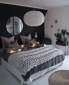 39 Fantastic bedroom color schemes that create a relaxing haven -.- 39 Fantastische Schlafzimmer-Farbschemata, die eine entspannende Oase schaffen -… 39 Fantastic bedroom color schemes that make a … - Room Ideas Bedroom, Small Room Bedroom, Blue Bedroom, Master Bedroom Design, Trendy Bedroom, Cozy Bedroom, Home Decor Bedroom, Modern Bedroom, Contemporary Bedroom