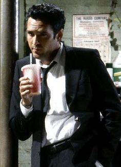 Michael Madsen as Mr. Blonde in Reservoir Dogs