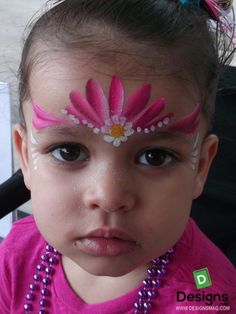 Best 75 Easy Face Painting Ideas - Makeup Your Face - - Princess Face Painting, Girl Face Painting, Painting For Kids, Face Paintings, Simple Face Painting, Easy Face Painting Designs, Face Painting Flowers, Face Painting Tutorials, Make Carnaval