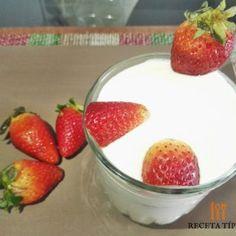 Cómo preparar Manjar Blanco, Receta paso a paso, muy exquisita y fácil Strawberry, Pudding, Fruit, Desserts, Food, Blancmange, Strawberries And Cream, Easy Recipes, Dessert