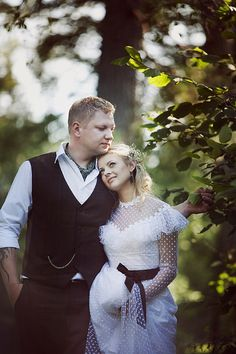 A rustic Lithuanian village wedding celebrating old traditions and a simpler way of life