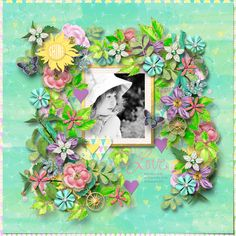 One-derful template by Heartstrings Scrap Art. Layout by Bryony. Digital Scrapbooking, Heartstrings, Templates, Create, Layouts, Home Decor, Models, Decoration Home, Template