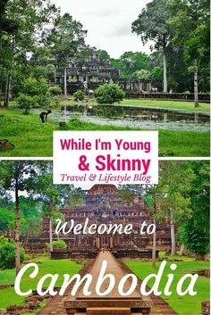 Exploring the ancient walled city of Angkor Thom on While I'm Young and Skinny travel blg: Exploring the ancient walled city of Angkor Thom on While I'm Young and Skinny travel blg