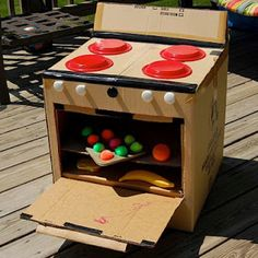 Cardboard box oven