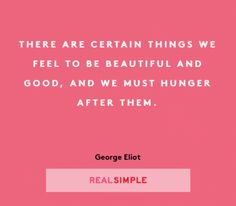 The Real Simple Daily Thought