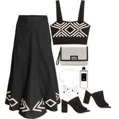 Untitled #1732 by samikayy76 on Polyvore featuring H&M, Topshop, White House Black Market and Serge Lutens