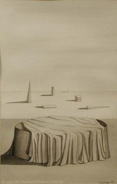 Kay Sage - 1943 - The Minutes no. 3